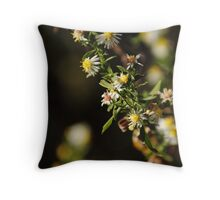 Bee Stalk Throw Pillow