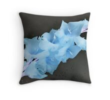 Inverted Gladiolus ~ July 2011 Throw Pillow