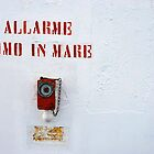 alarme uomo in mare by trounoir