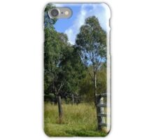 The Aussie farm fence iPhone Case/Skin