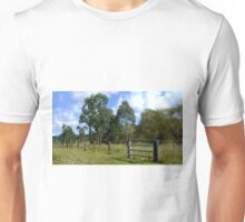 The Aussie farm fence Unisex T-Shirt