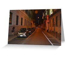 Brera Street Greeting Card