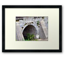 Relics of the past Framed Print