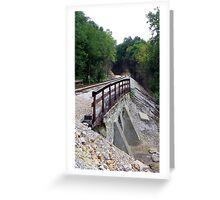 Trekking down memory lane Greeting Card