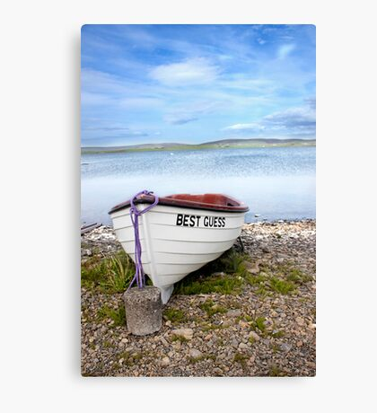 Best Guess Canvas Print