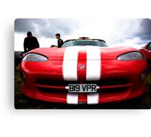 Dodge Viper Canvas Print