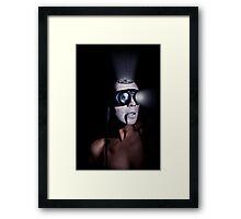 Moon Mining Framed Print