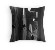 Night Walker Throw Pillow