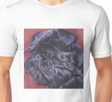 Brussels Griffon Fine Art Painting Unisex T-Shirt
