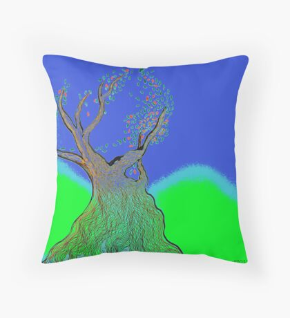 once upon a tree Throw Pillow