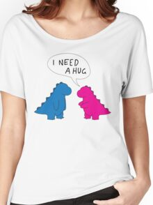 T-Rex Hug Women's Relaxed Fit T-Shirt