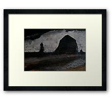 Cannon Beach (study 2) Framed Print