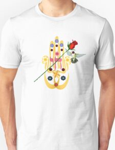 Hamsa and Flowers T-Shirt