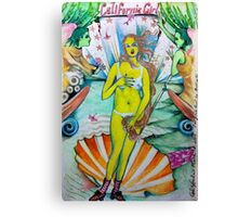 California Girl  Canvas Print