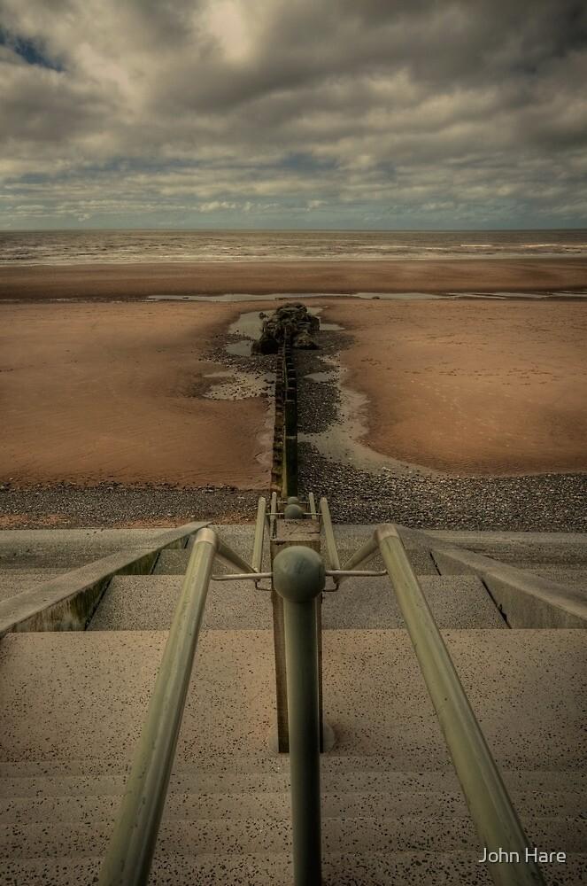 Beach Steps by John Hare