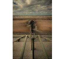 Beach Steps Photographic Print