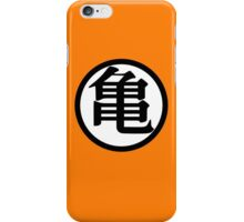 Inspired Goku Kanji Symbol iPhone Case iPhone Case/Skin