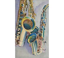 Saxy Trio Photographic Print