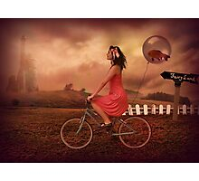 Traveling To Fairy Land Photographic Print