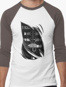 Five Nights at Freddy's Foxy's Endoskeleton, Great for cosplay! Men's Baseball ¾ T-Shirt
