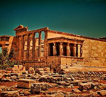 Greece. Athens. Acropolis. Erechtheum. by vadim19