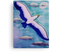 Freedom! watercolor Canvas Print