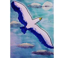 Freedom! watercolor Photographic Print