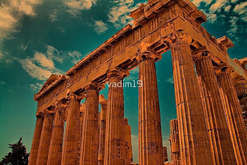Greece. Athens. Acropolis. Parthenon. by vadim19