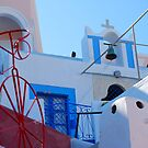 Oia Village Again, Santorini, Greece by inglesina