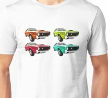 Vintage 1970s psychedelia Muscle Cars  Unisex T-Shirt