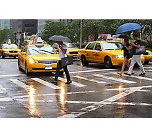 Summer Rain in NYC Photographic Print