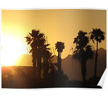 Havasu sunset Poster