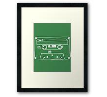 Retro Cassette Tape Framed Print