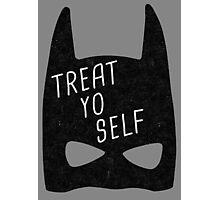 Treat Yo Self | Batman Photographic Print