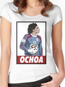 OCHOA Women's Fitted Scoop T-Shirt
