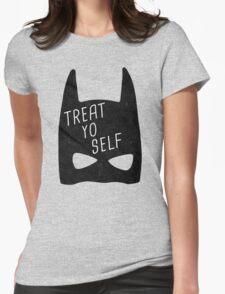 Treat Yo Self | Batman Womens Fitted T-Shirt
