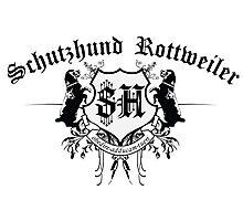 Schutzhund Rottweiler Photographic Print