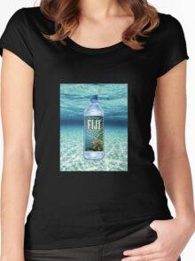 fiji water Women's Fitted Scoop T-Shirt