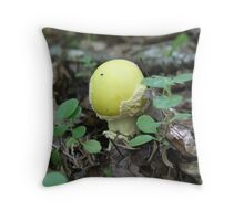 On the shy side Throw Pillow