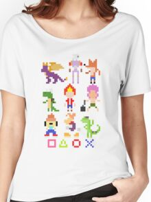 Playstation Legends pixel Women's Relaxed Fit T-Shirt