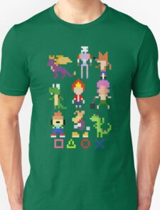 Playstation Legends pixel Unisex T-Shirt