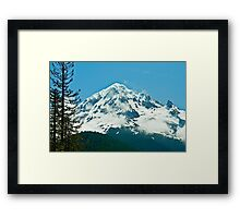 The Majestic Hood Framed Print