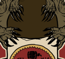 FALLOUT: SUNSET-SARSAPARILLA / TRY MOJAVE'S BEST (RED) Sticker
