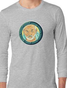 Bill Porthole  - blue Long Sleeve T-Shirt