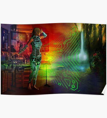 techno future Poster