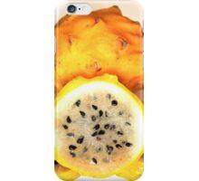 Yellow Pitahaya iPhone Case/Skin