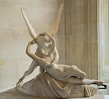 Psyche Revived by Cupid's Kiss by Lanis Rossi
