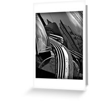 Art Deco Auto Artistry Greeting Card