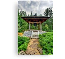 Japanese Temple Bell‏ Canvas Print