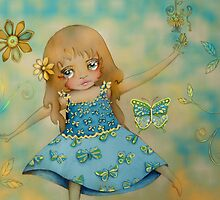 butterfly dress by © Karin (Cassidy) Taylor